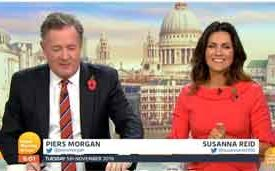 Ofcom Clears Piers for His Views on Gender   Good Morning Britain