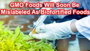 GMO Foods Will Soon Be Mislabeled As Biofortified Foods