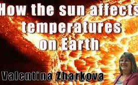 How the sun affects temperatures on Earth