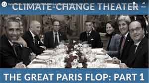 Paris Climate Accords: Political Sound and Fury Signalling Nothing - Part 1